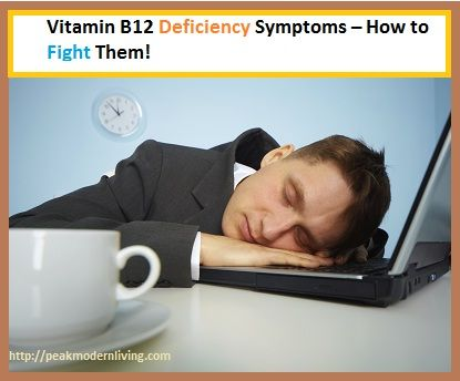 A lack of energy can be due to a vitamin B12 deficiency.