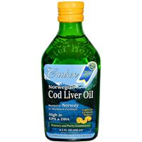 carlson cod liver oil 250ml bottle