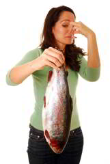 A rancid fish smell can lead to side effects due to Oxidation