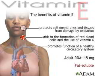Most popular vitamin E benefits