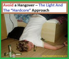 how to Avoid a Hangover article