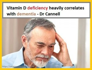 Vitamin D Deficiency Might cause dementia