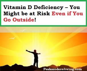 vitamin d deficiency even if you go outside