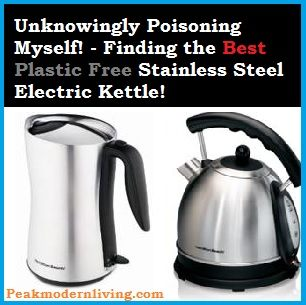reviews on plastic free electric kettles