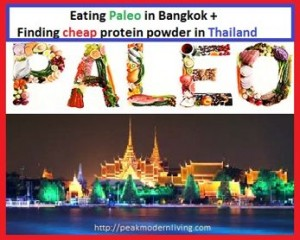 Eating paleo in Bangkok