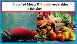 Grass fed Meats & organic vegetables are easy to find!