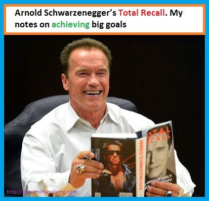 Arnold Schwarzenegger total recall book review and notes