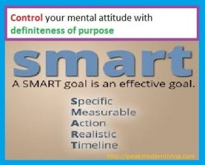 Control your mental attitude - Napoleon Hill