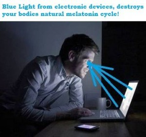 how to improve sleep quality by removing blue lights