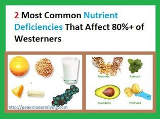 2 common Nutrient Deficiencies